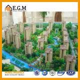 Modelos de la exposición de los modelos de la escena de los modelos del edificio residencial/modelo de las ventas de las propiedades inmobiliarias