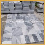 Natural pulido blanco / negro mármoles de piedra de madera para pisos / mostrador / pavimentación / pared