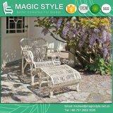 Chaise moderne de balcon de sofa de meubles de meubles de patio de chaise de cabriolet de sofa de loisirs de chaise de rotin de la chaise en osier P.E de sofa de meubles en osier extérieurs de jardin (modèle magique)