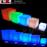 Würfel Seat Chair Stool Illuminated Light herauf LED Cube