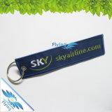 Qualitäts-Auslegung-Zeichen-Stickerei Keychain