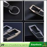 O plutônio feito sob encomenda o mais quente Keychain de couro do metal