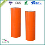 cinta de empaquetado adhesiva anaranjada del color BOPP de la anchura de 48m m sin burbuja