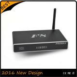 Rectángulo de aluminio de Bluetooth 3D WiFi TV del androide 4.4 de Amlogic S812
