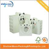 Bolsa de papel linda de embalaje del juguete de los niños con la maneta (QY150295)