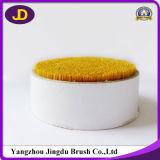 cerda de escova amarela do cabelo da ponta de 35mm