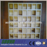 El panel de pared de madera decorativo de los difusores