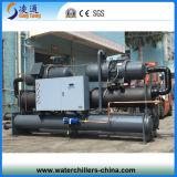 Réfrigérateur de vis/refroidisseur d'eau industriel du refroidissement par eau Chiller/200HP