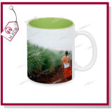 11oz Customized Ceramic Mug Sublimation con Inside Color