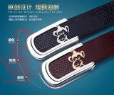Cinghia di cuoio genuina degli inarcamenti di cinghia degli accessori di modo