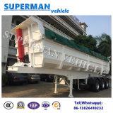 32cbm半実用的な貨物ダンプの頑丈なダンプカーのトラックのトレーラー