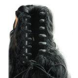 Nuova estensione dei capelli ricci di Afro del Ponytail della clip della mascella di modo