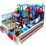 Natural poco costoso Design Kids Indoor Playground per Shopping Mall