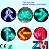 Módulo de piscamento do sinal do diodo emissor de luz do vintage En12368 novo aprovado/núcleo sinal de tráfego com lente