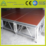 Het Aluminium van de Prestaties van China van Guangzhou 1.22m*1.22m Openlucht Mobiel Stadium van het Triplex