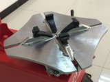 Het gebruikte AutomobielVlekkenmiddel van het Wiel van de Auto van de Wisselaar van de Band Heldere, de Apparatuur van de Garage