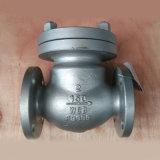 Válvula de verificação do aço inoxidável com padrão do API