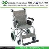 [فولدبل] منافس من الوزن الخفيف مصغّرة حجم عمليّة عبور فائق خفّة ألومنيوم كرسيّ ذو عجلات