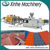 Linha de produção da máquina da extrusora da telha de telhado do esmalte com quantidade elevada