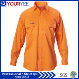 As camisas baratas do trabalho vendem por atacado as camisas do Workwear (YWS115)