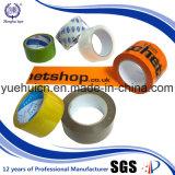 Água desobstruída e da oferta da impressão - fita acrílica baseada da embalagem