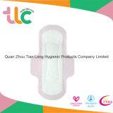 Serviette hygiénique élevée de coton d'absorption d'usine de Quanzhou