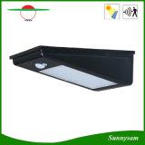 屋外の照明製品の無線防水省エネの太陽ランプ24 LED 400の内腔のMontionセンサーの太陽壁ライト