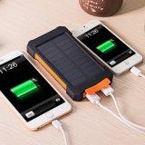 10000 Milliamperestunden-beweglicher Handy-wasserdichte Solaraufladeeinheit mit Fackel