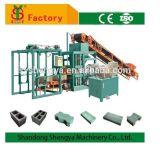 Shengya preiswerter Preis-Aufbau Automaic Betonstein, der Maschinerie herstellt