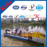 Dragueur hydraulique de découpage de Weed de bateau de moissonneuse de jacinthe d'eau de Keda