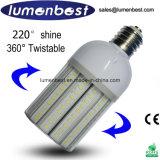 360 luz de rua do bulbo do milho do diodo emissor de luz de Twistable 25W do grau/iluminação/lâmpada