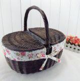(BC-ST1087) Eco-Friendly를 가진 High Quality Handmade Willow Pinic Basket