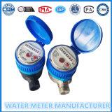 Medidor de agua de pulso de plástico simple Jet Nylon
