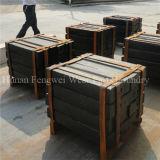Barre élevée de coup d'acier de manganèse de moulage au sable