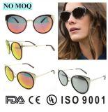 Óculos de sol 2016 barato polarizados do metal dos vidros de China Por atacado Lentes De Solenóide Costume Sun