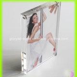 Magnetisches Entwurfs-Transparent-Acrylfoto-Rahmen