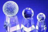 Golf de Soprts/football/basket-ball/tennis/trophée et récompense en cristal du football