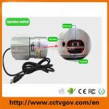 Cámara impermeable del IR del punto negro de la tarjeta del USB del Micro-SD de la visión nocturna del CCTV