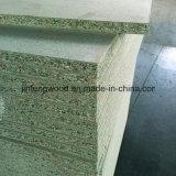 Pannello di truciolato resistente impermeabile verde dell'umidità del pannello truciolare