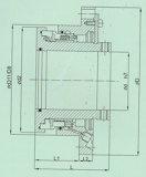 Tipo selo mecânico da Multi-Mola (HT5)