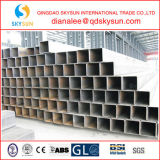 Heißer fertiger struktureller quadratischer Kohlenstoff-nahtloses Stahlrohr