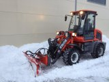 Snow Blade를 가진 0.8 톤 Loading Capacity Small Loader Er08