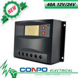 40A, 12V/24V, LCD, ZonneControlemechanisme PWM