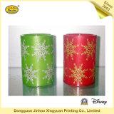 Bougies de collant de l'eau d'étiquettes de transfert pour la décoration de Noël (JHXY-WT0001)