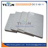 Azulejo mineral acústico del techo de la fibra