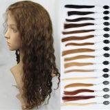 190%-200% la parrucca dei capelli umani di densità accetta Paypal