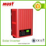 Triphasé sur outre de l'inverseur solaire hybride du réseau 9kw 12kw