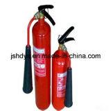 Estintore inferiore concavo del CO2 dell'acciaio legato di alta pressione 5kg (cilindro: EN1964-1)