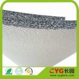 Unterstütztes Doppeltes Schaumgummi versah mit Seiten und Aluminiumfolie-Wärmeisolierung-für Dach-Isolierung
