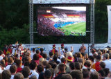 P6 al aire libre a todo color de LED Video Wall en Alquiler / Instalar Permanente